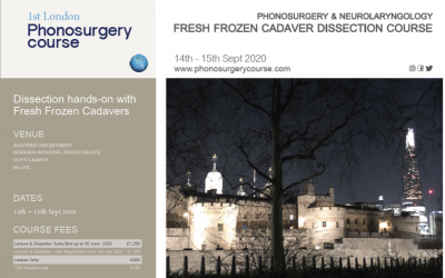 1st London Phonosurgerycourse | 2021