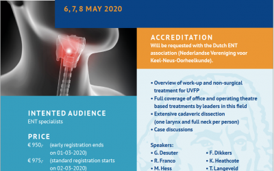 UVFP course Leiden | 6 – 8 May 2020 (postponed till 2021)